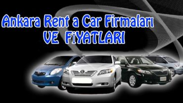 Ankara rent a car firmaları